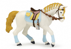 Trendy Riding Horse Blue